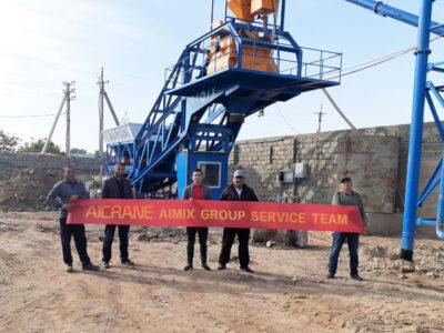 planta de concreto móvel 35m3