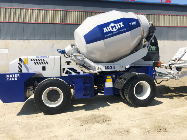 self-loading concrete transit mixer Kazakhstan