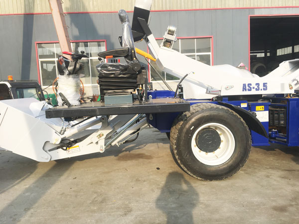self-loading rough terrain mixer Kazakhstan