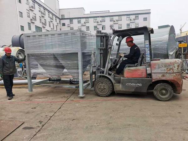 embarque da planta de fabricação de massa de parede