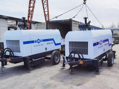 Bomba de concreto a diesel ABT60C