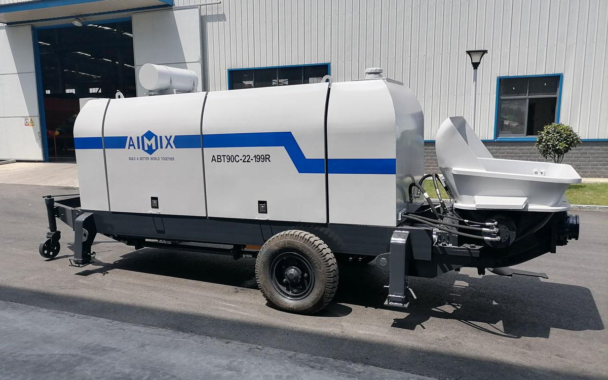 concrete pump diesel