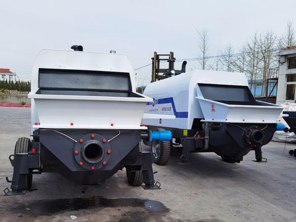 diesel engine concrete pump to Uzbekistan
