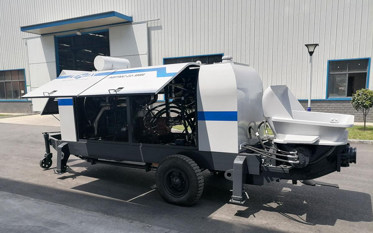 diesel engine concrete pump uz