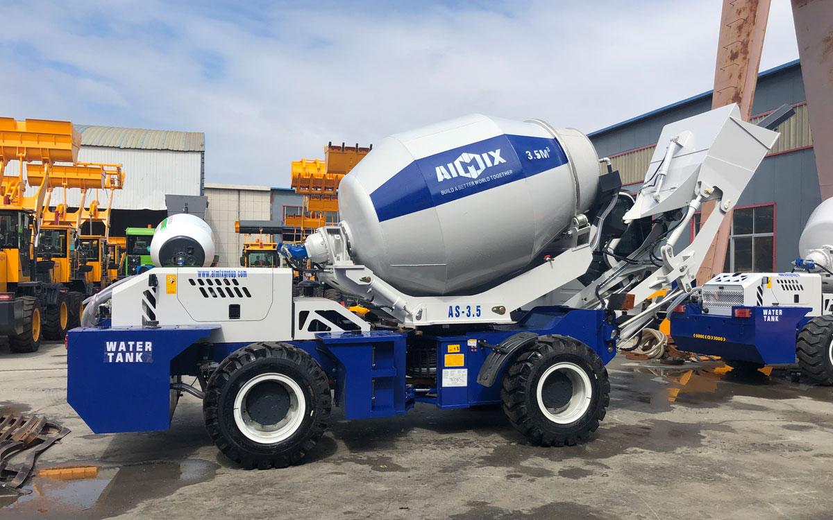 3.5m3 self-loading concrete mixer Nigeria
