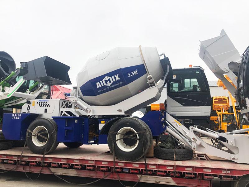 3.5m3 self loading mixer Almaty