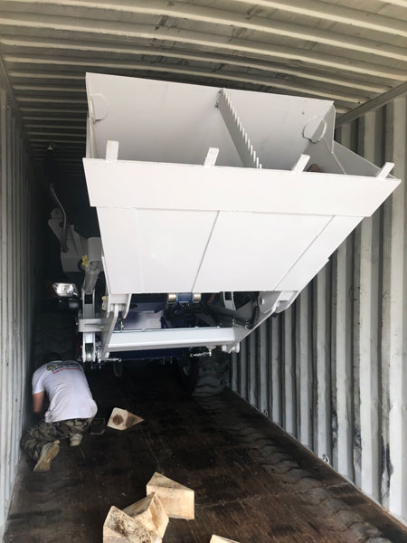 3.5m3 self-loading mixer