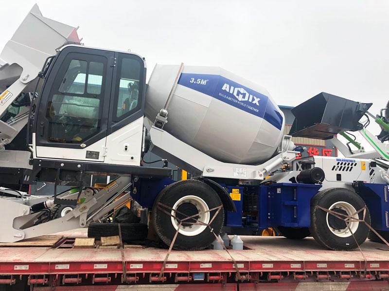 AS-3.5 self-loading mixer to Almaty