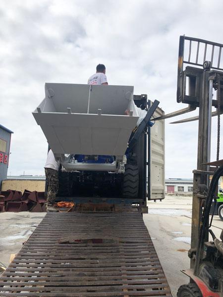 AS-3.5 self-loading mixer