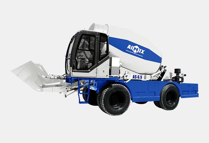 Caminhão betoneira de carregamento automático AS-6.5
