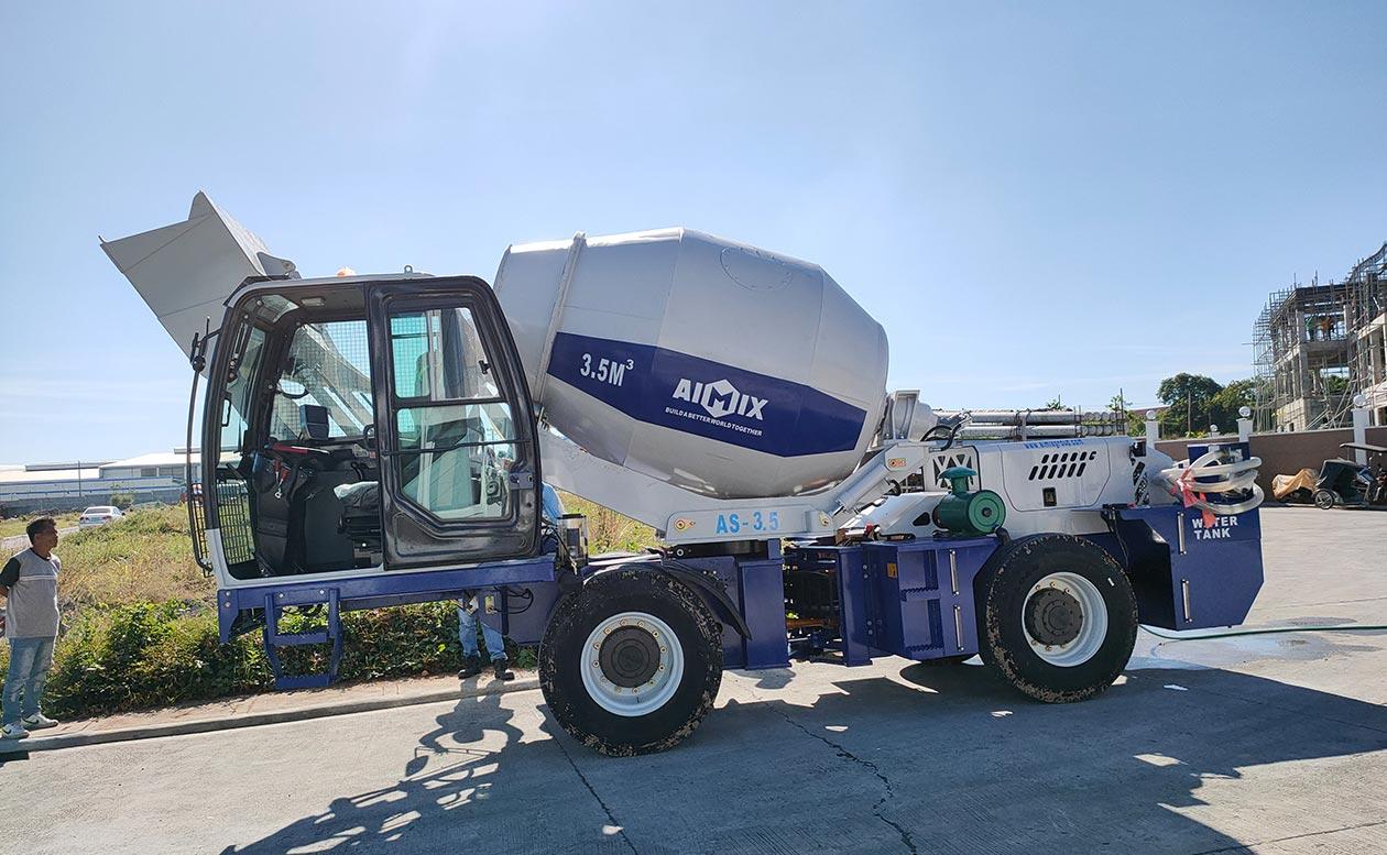 Caminhão de concreto auto-misturador Hot Model AS-3.5