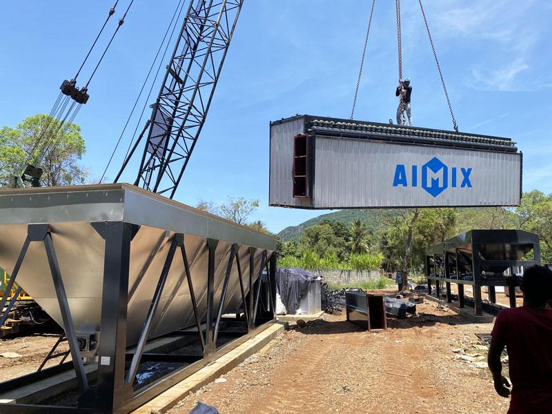 installation of asphalt plant in Sri Lanka