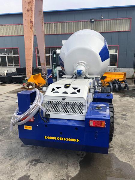self-loading concrete mixer for Nigeria