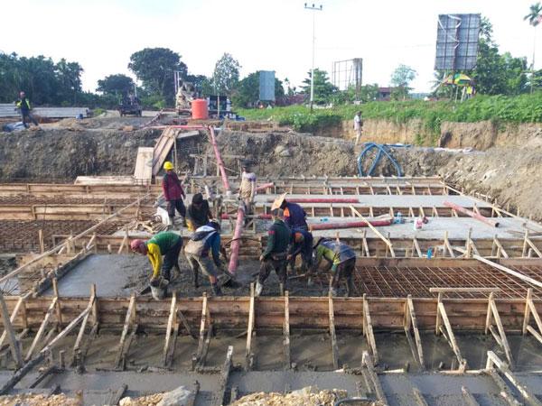ABT30C concrete pump diesel Papua