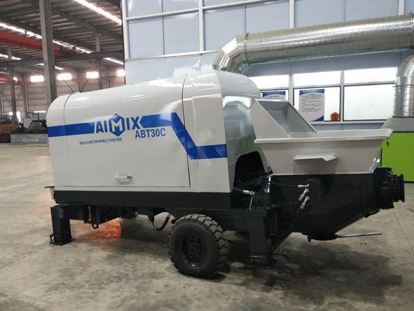 ABT30C diesel engine concrete pump Indonesia