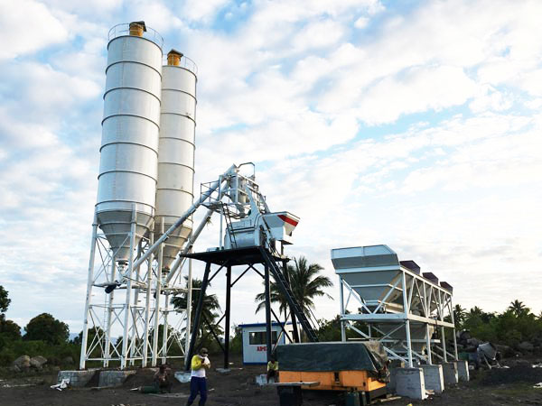 AJ-50 concrete batching plant philippines