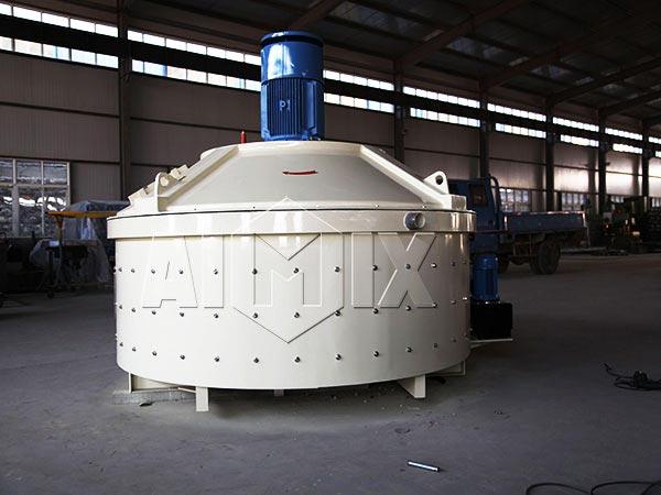 JN750 planetary concrete mixer