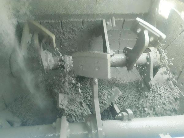 concrete mixing process