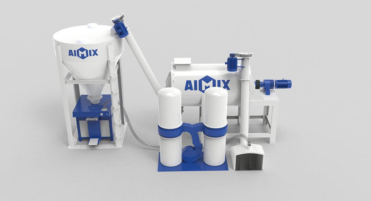 dry mix mortar production plant China