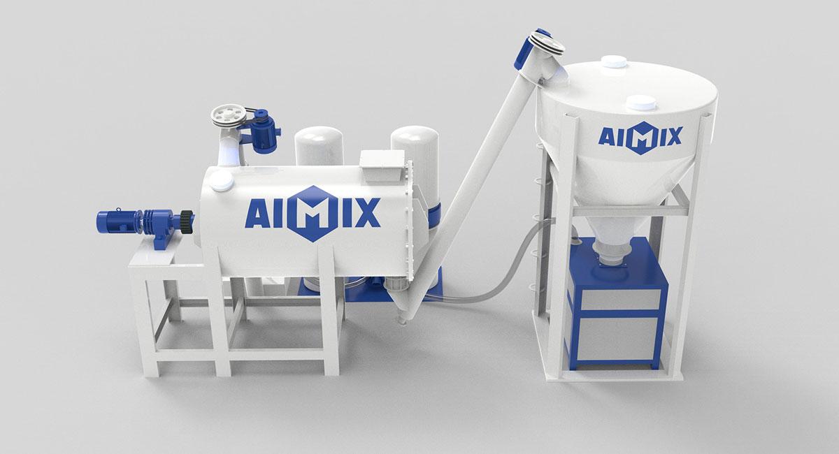 dry mixed mortar production plant China