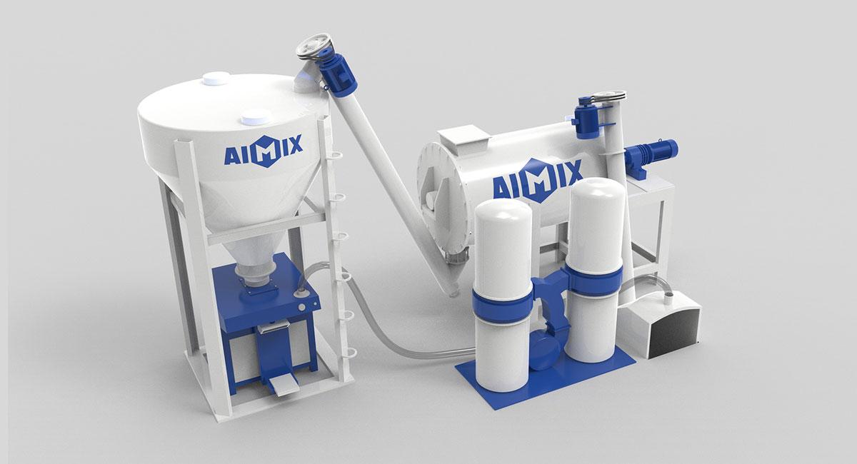 dry mortar production plant China