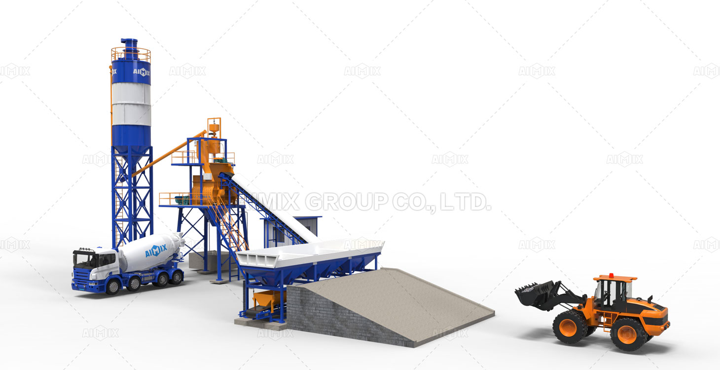 how to start a concrete batching plant from AIMIX