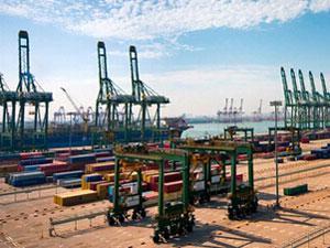 port construction