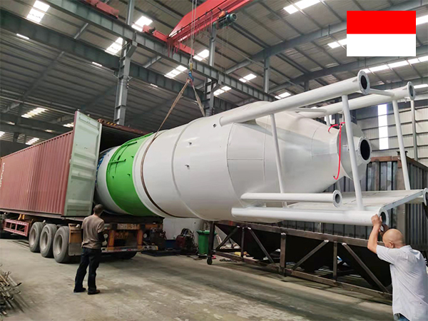 30 t cement silo to Indonesia