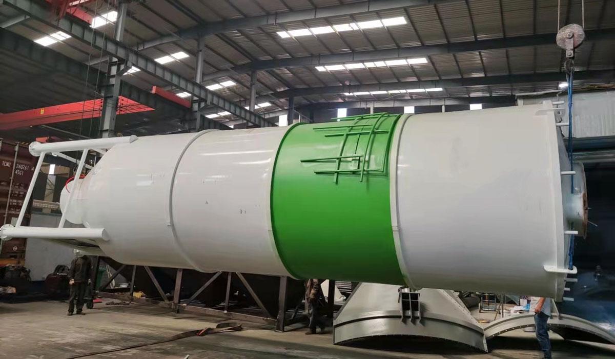 30 ton welded type cement silo