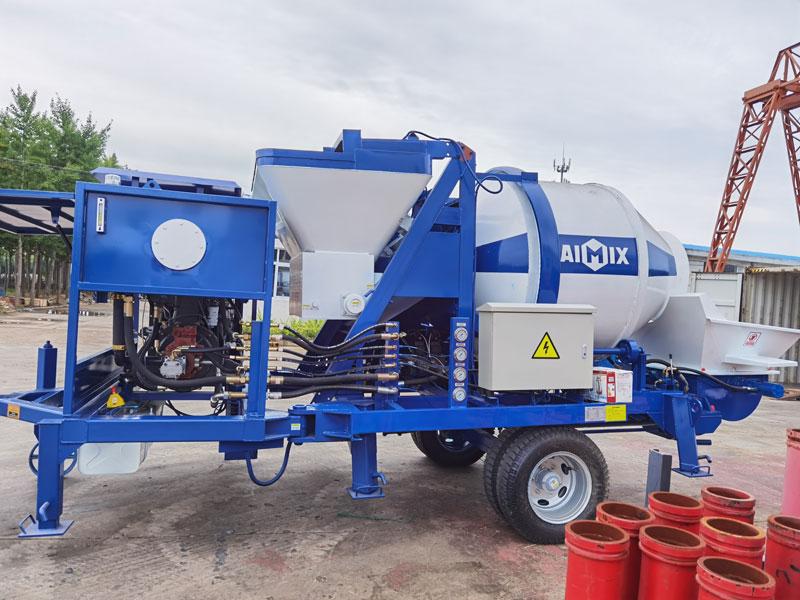 ABJZ40C concrete mixing pump