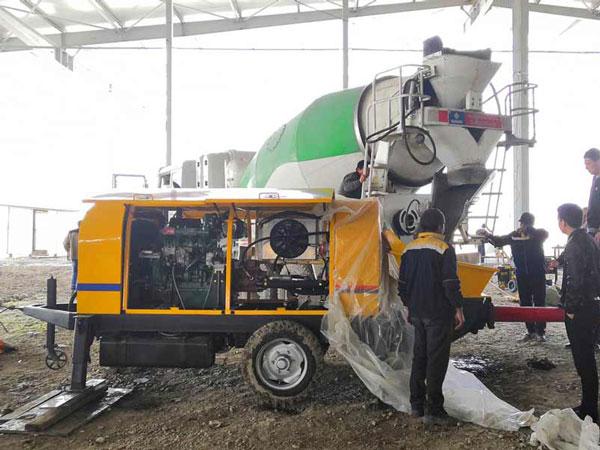 ABT40C Uzbekistan for urban construction