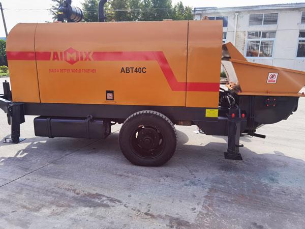 ABT40C concrete pump to Indonesia