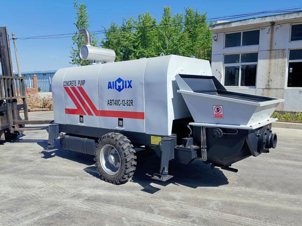 ABT40C diesel concrete trailer-pump