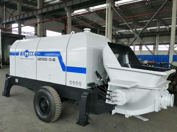 ABT60D electric concrete trailer pump