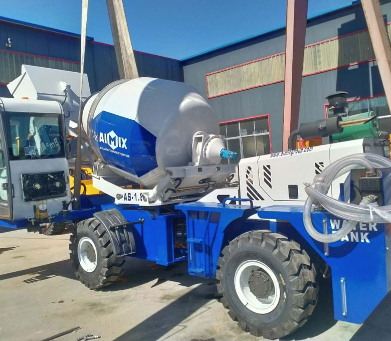 AS-1.8-Self Loading Concrete Truck Mixer ขายถูกส่งออกไปยังฟิลิปปินส์