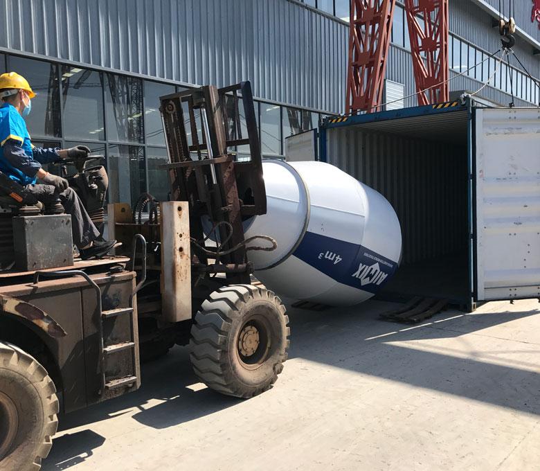 AS-4.0 รถบรรทุกคอนกรีตสำหรับขายพร้อมสำหรับมาเลเซีย