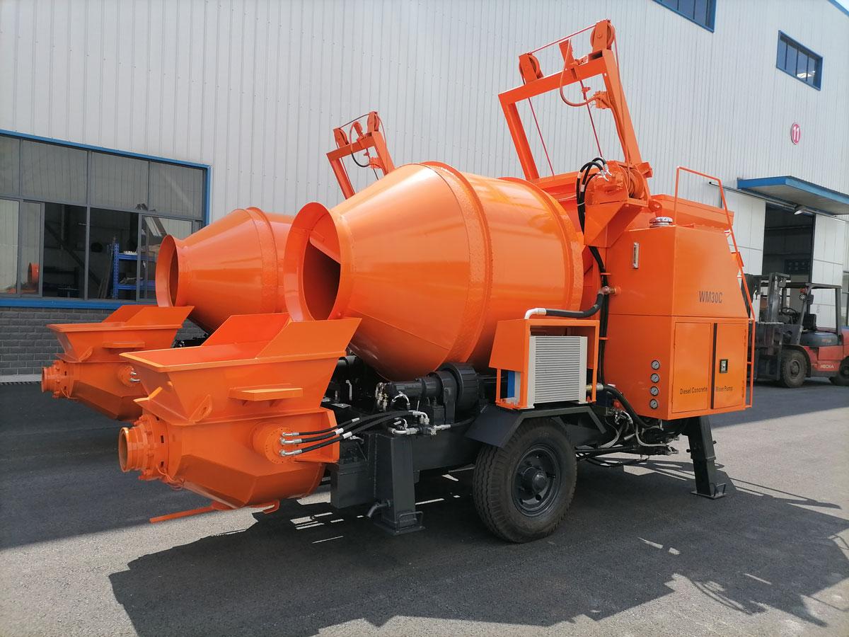 concrete mixer pump to Nepal