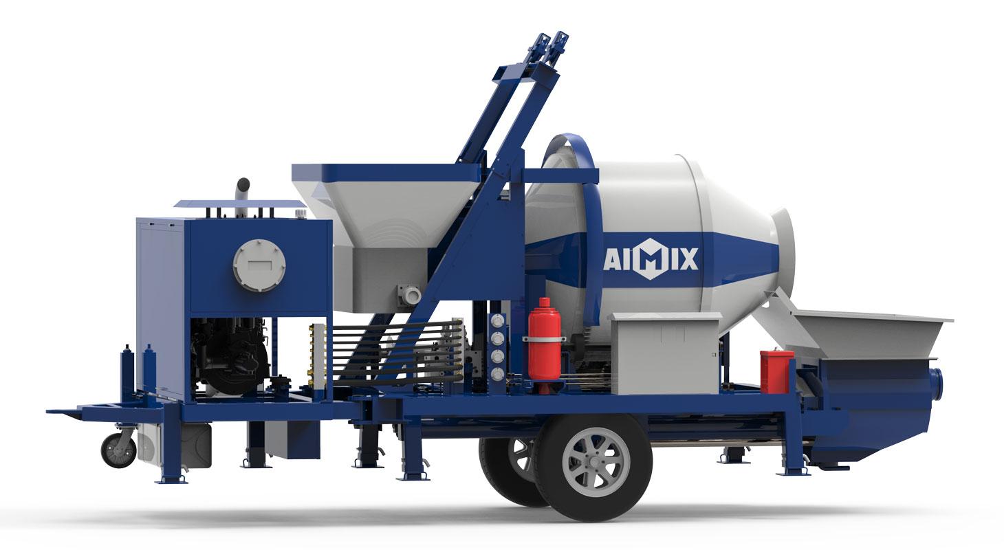 diesel cement mixer pump ABJZ40C