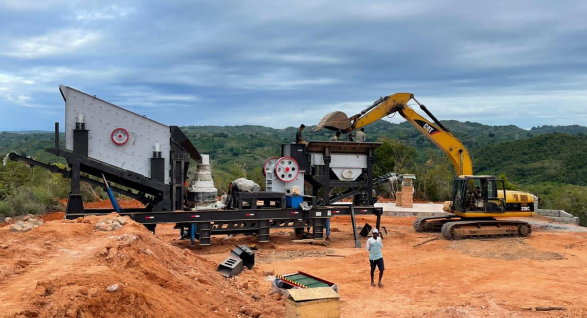 mobile crusher plant in Madagascar