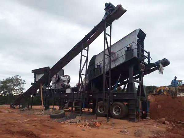 mobile crushing plant in Madagascar
