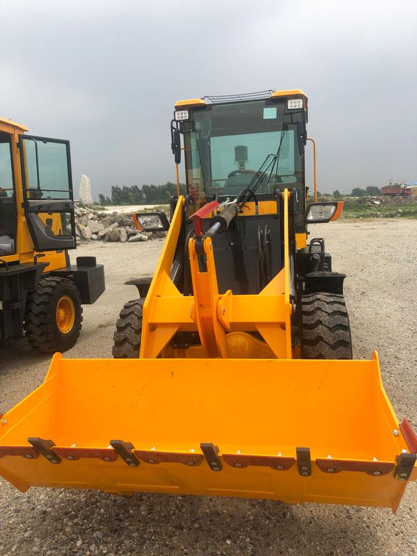 wheel loader to Nepal