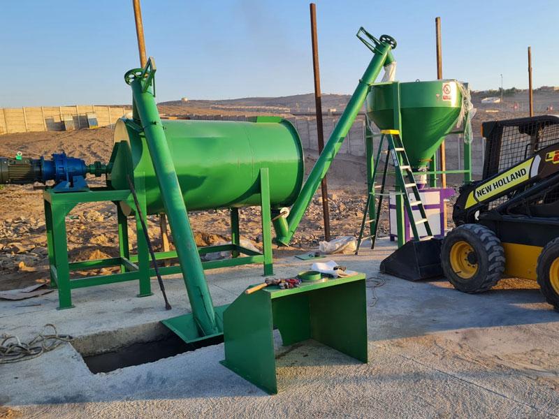 2 ton mortar plant in Zambia