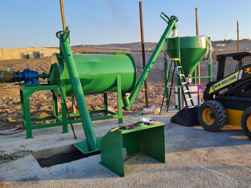 2 ton wall putty plant in Zambia