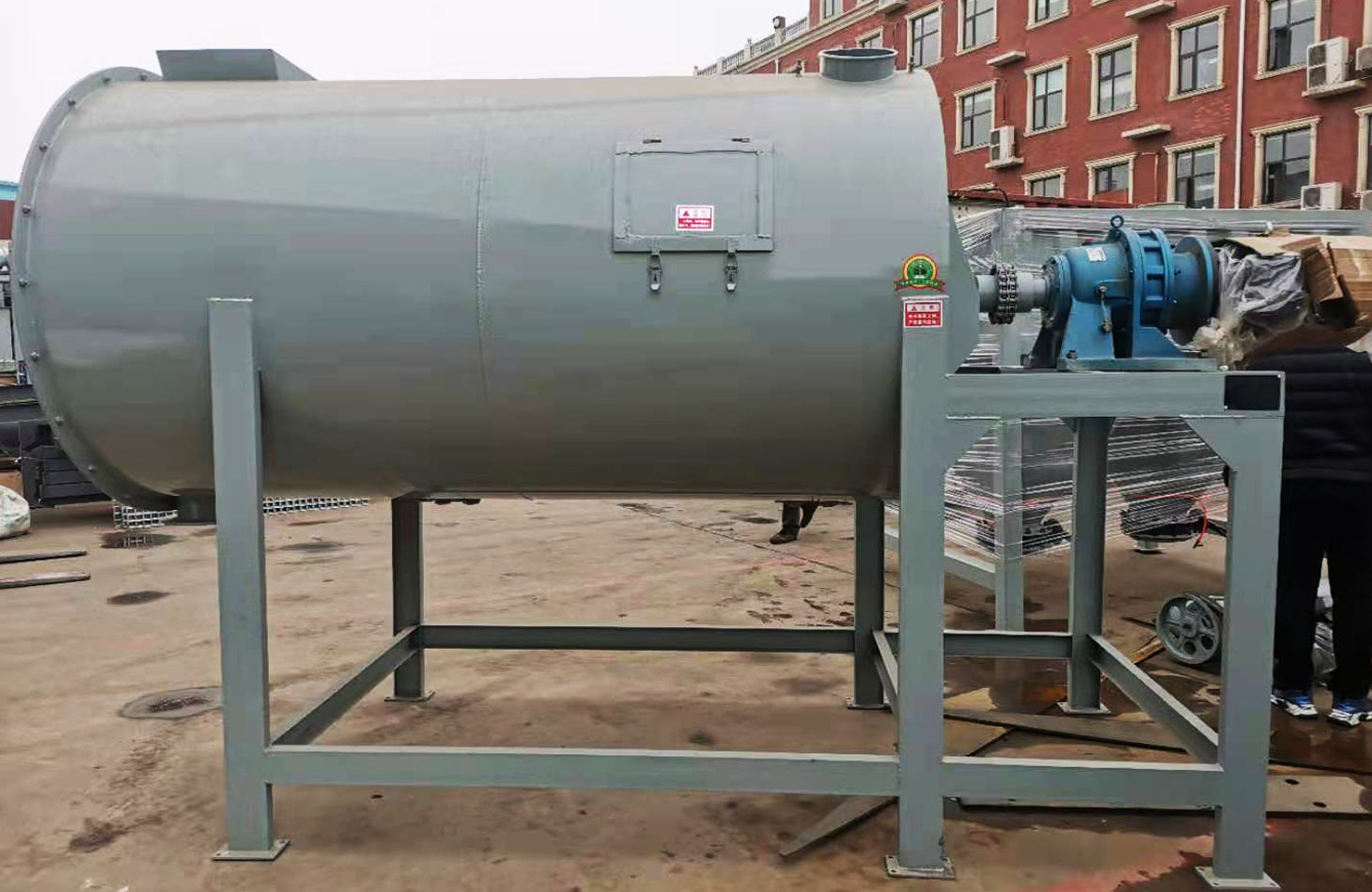 3 ton dry mortar plant was exported to UAE