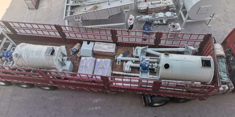 3 ton wall putty manufacturing machine shipment