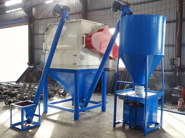 GJ03 simple type dry mix mortar plant