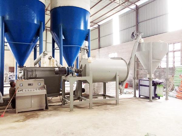 GJ10 dry mortar mix plant