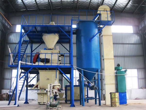 GJ20 dry mix mortar plant