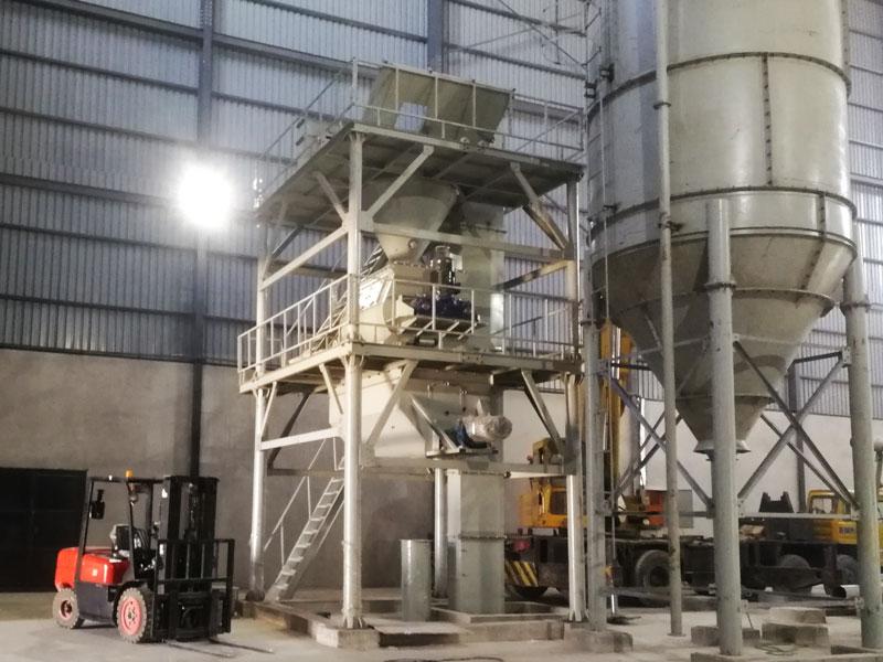 GJ20 wall putty making machine in Zambia