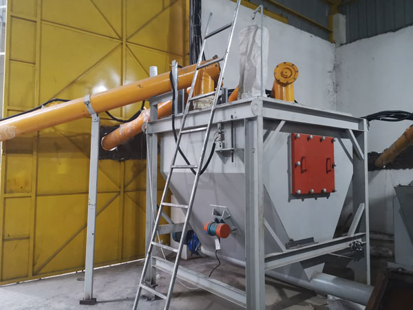 dry mortar mixer plant in Indonesia